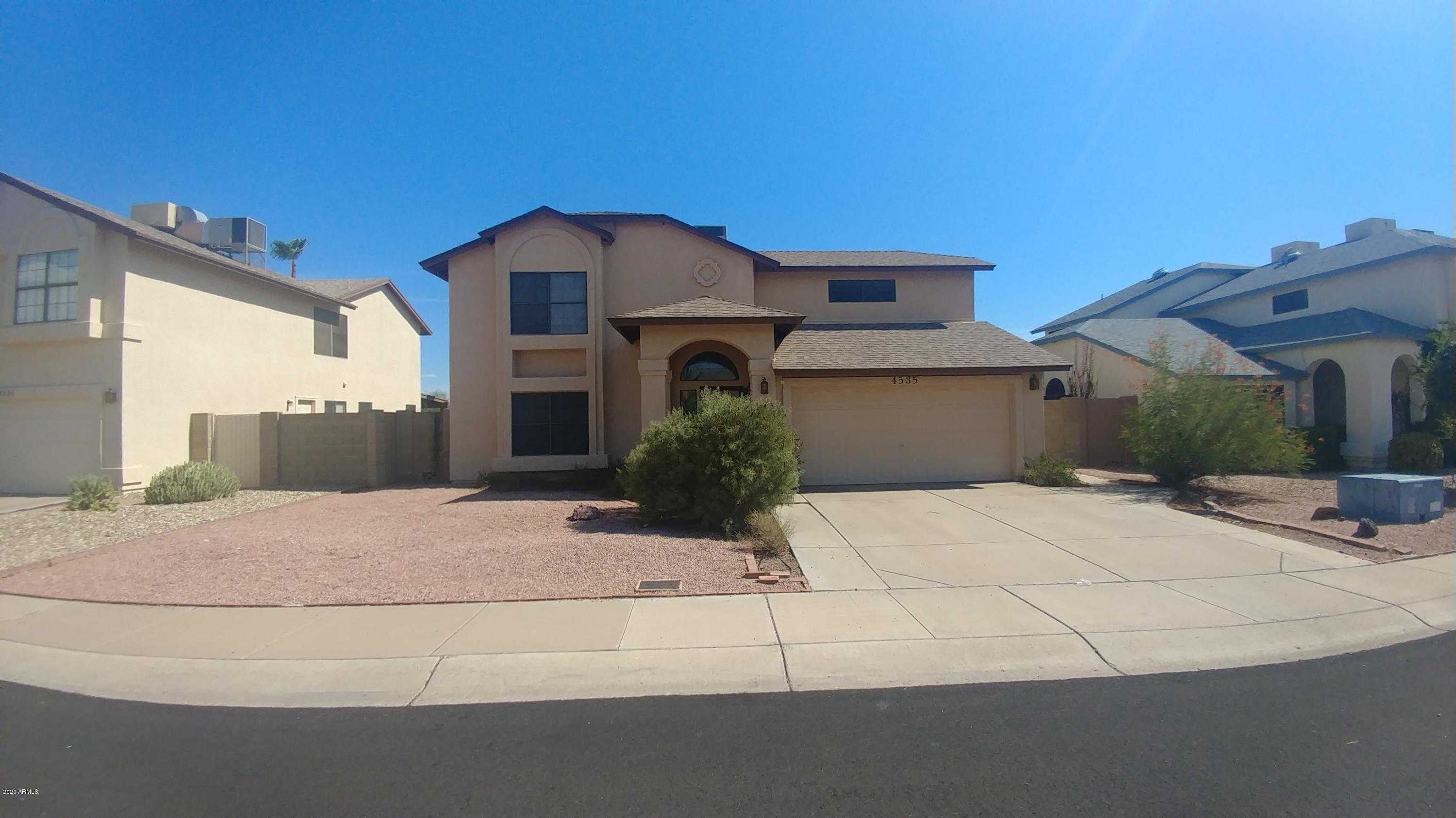 $274,900 - 4Br/3Ba - Home for Sale in Overland Trail 6 Lt 1-229 Tr A-k, Glendale