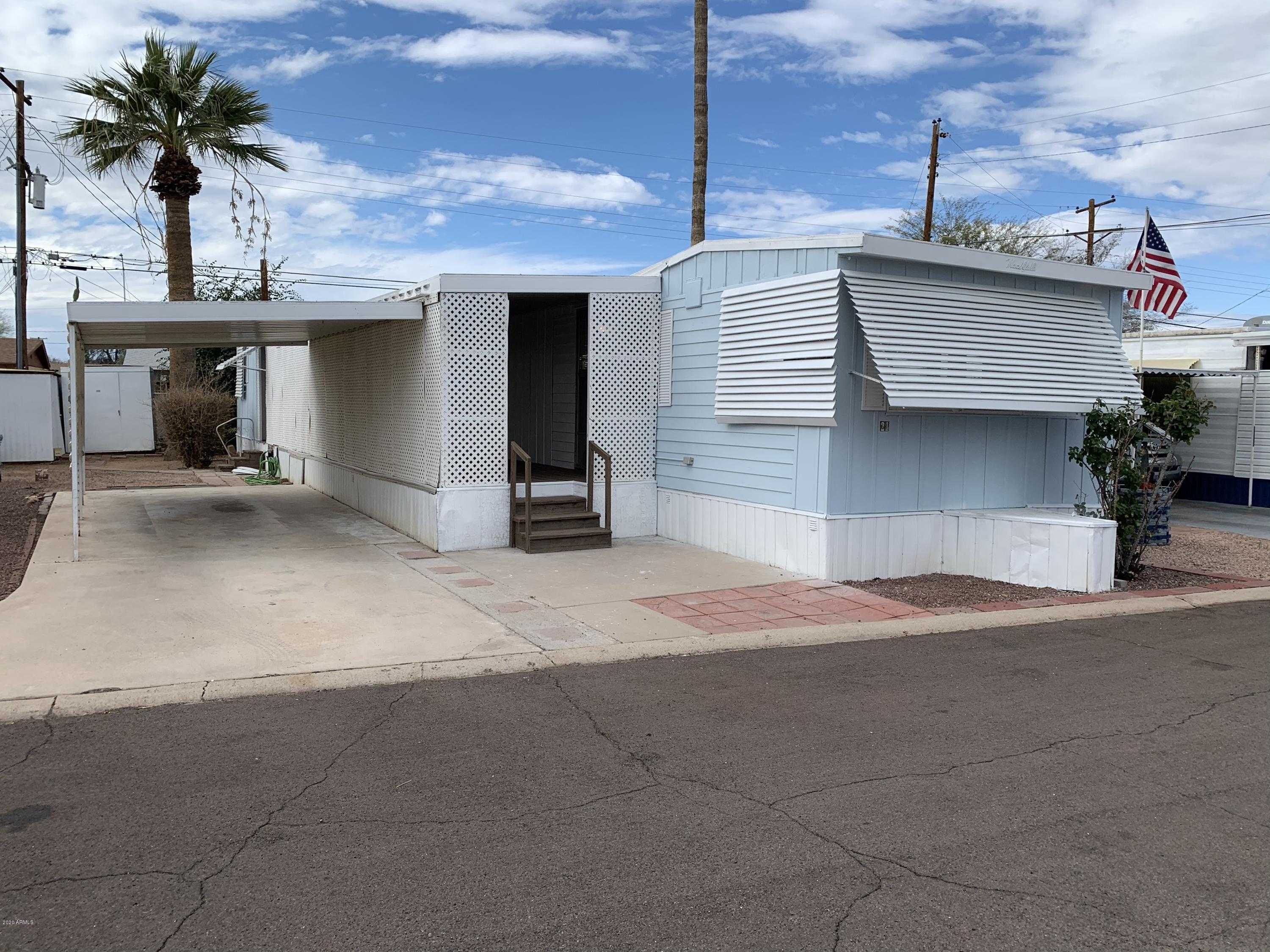 $9,990 - 2Br/1Ba -  for Sale in Alma Gardens Mobile Home Park, Mesa