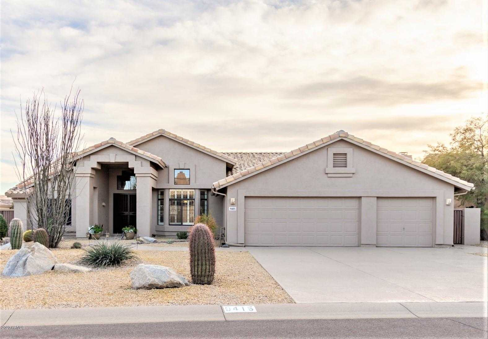 $610,000 - 3Br/2Ba - Home for Sale in Pinnacle Ridge At Troon North, Scottsdale