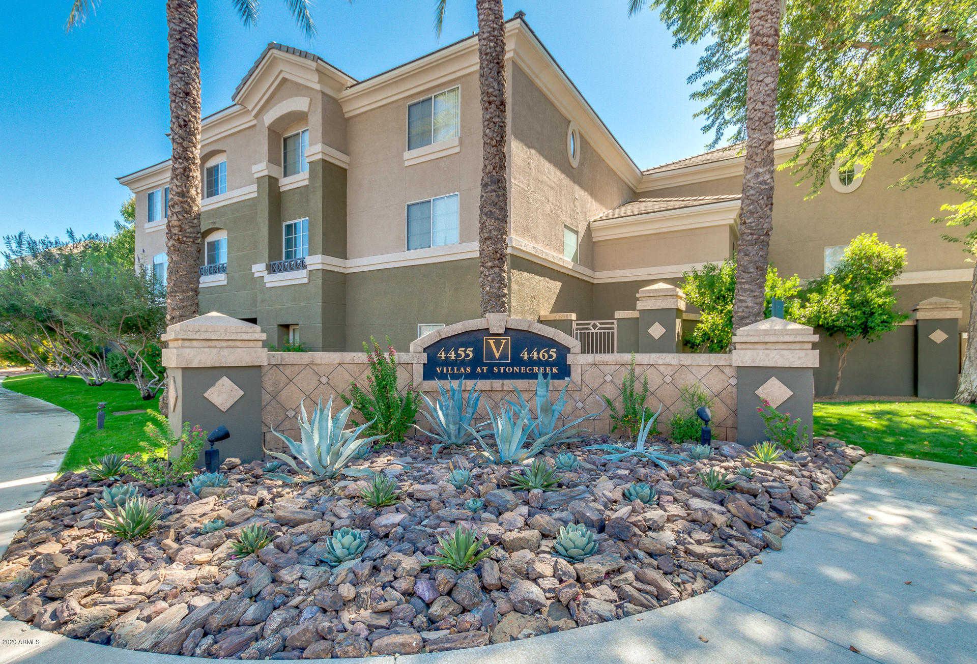 $199,900 - 1Br/1Ba - for Sale in Villas At Stonecreek Luxury Condominiums, Phoenix