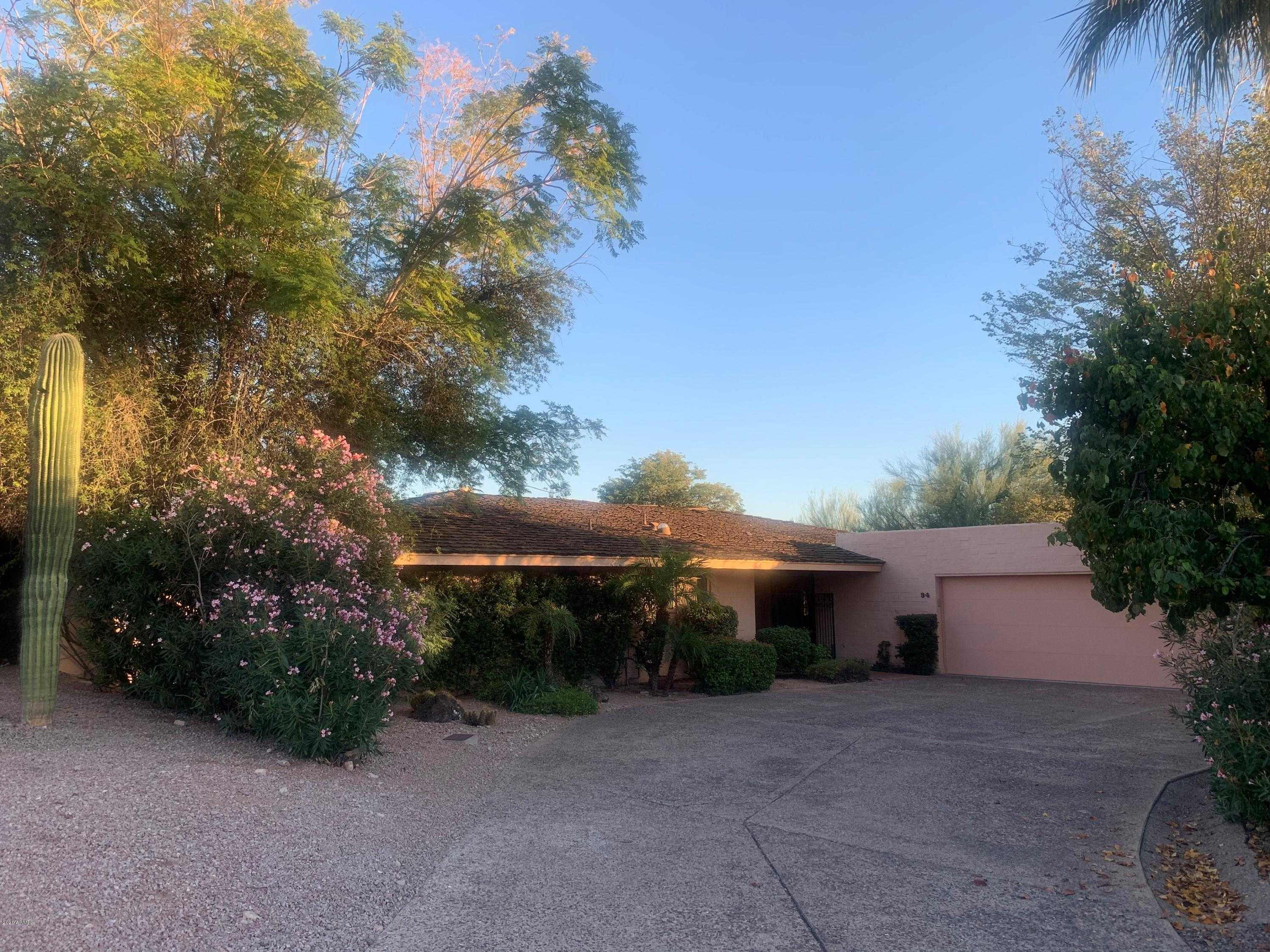 $1,350,000 - 2Br/2Ba - Home for Sale in Colonia Miramonte Unit 2, Paradise Valley