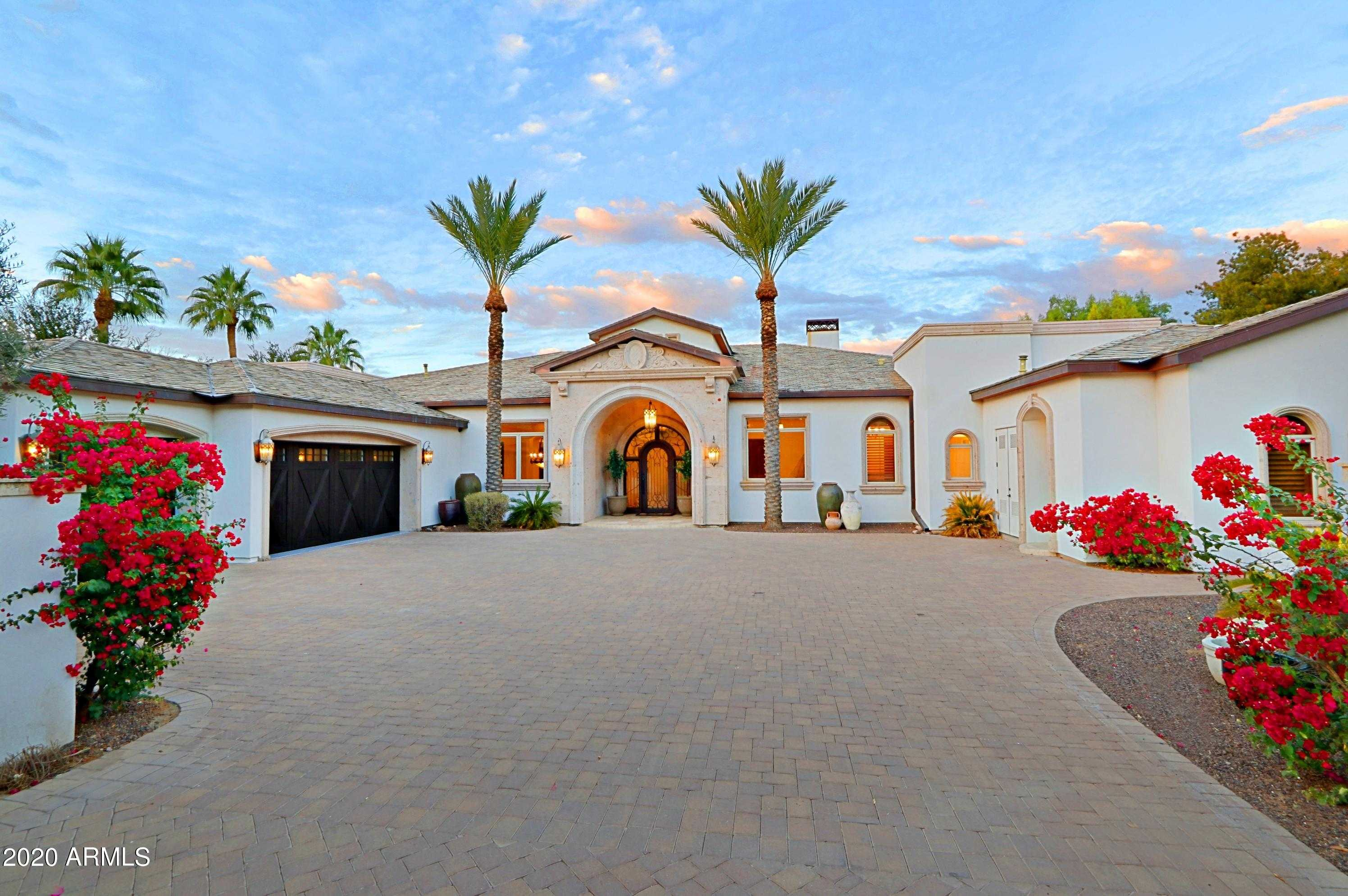 $4,495,000 - 4Br/7Ba - Home for Sale in Foothills Estate, Paradise Valley