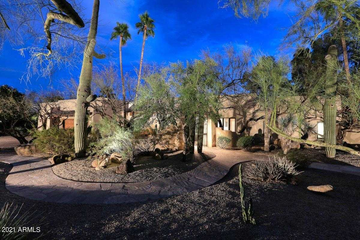 $3,495,000 - 3Br/5Ba - Home for Sale in Casa Blanca Estates Lot 20-37 & Tr A, Paradise Valley
