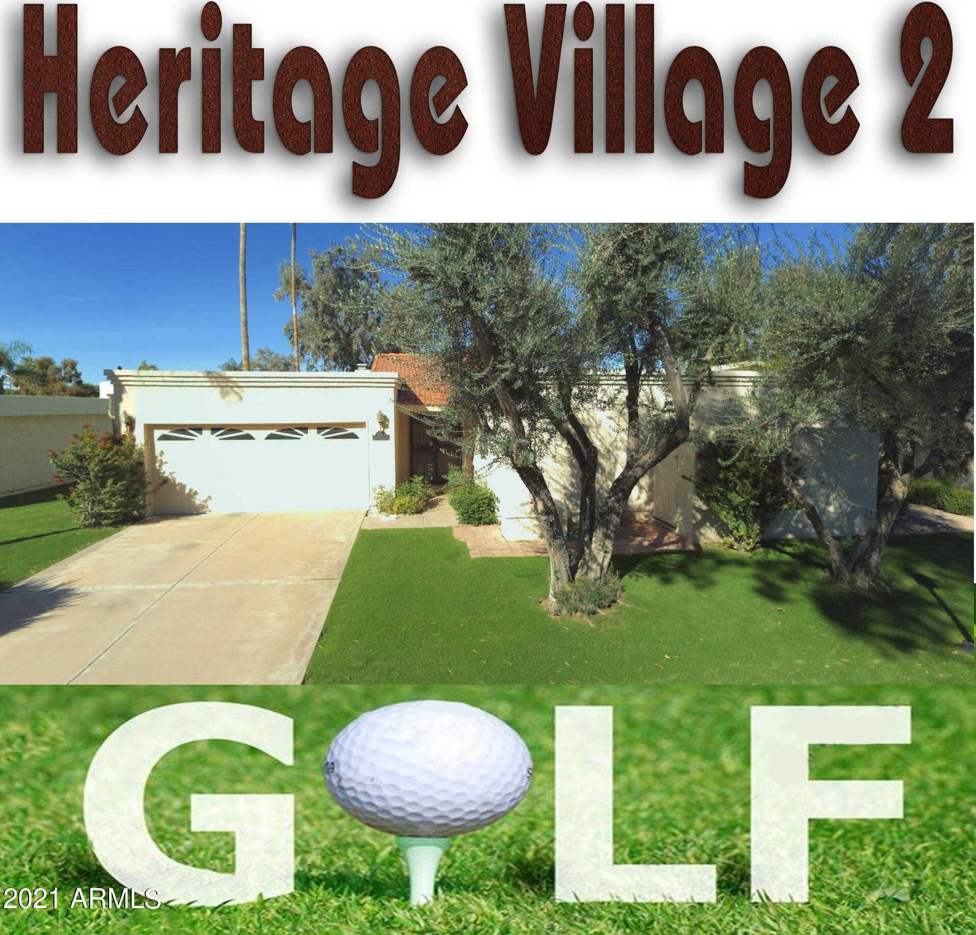$725,000 - 2Br/2Ba -  for Sale in Heritage Village 2, Scottsdale