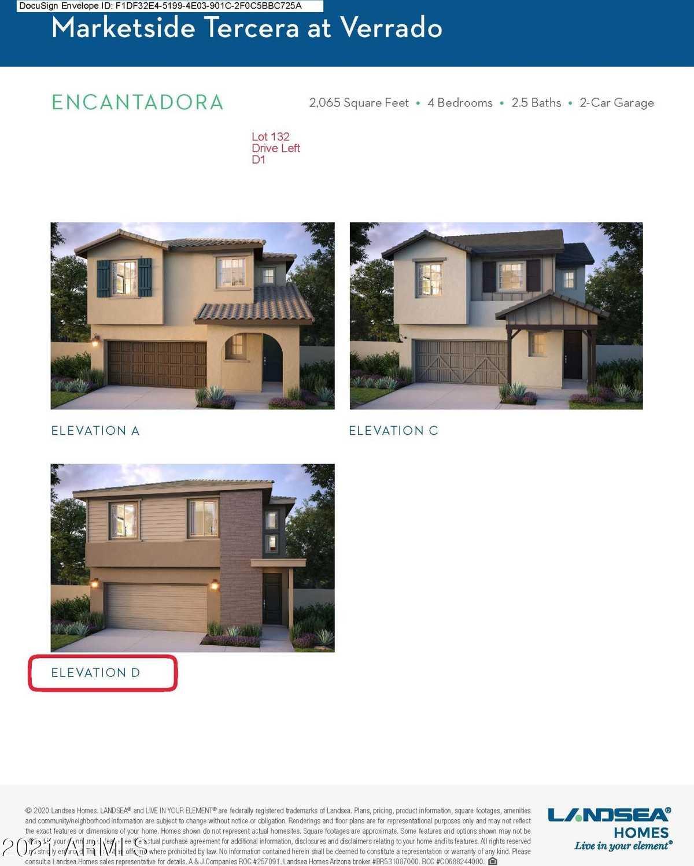 $446,667 - 4Br/3Ba - Home for Sale in Verrado, Buckeye