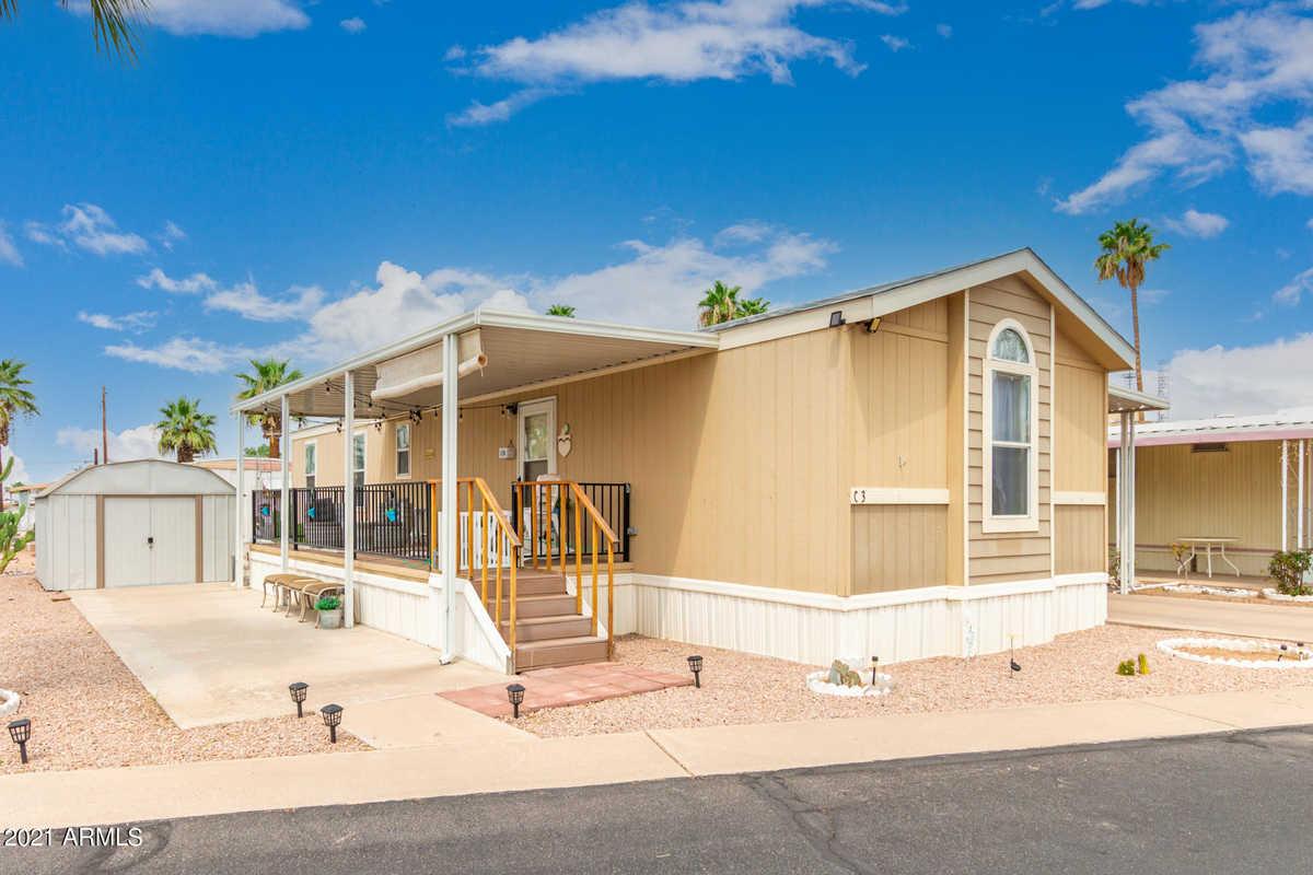 $89,900 - 3Br/2Ba -  for Sale in Twin Knolls Mobile Home Villa, Mesa