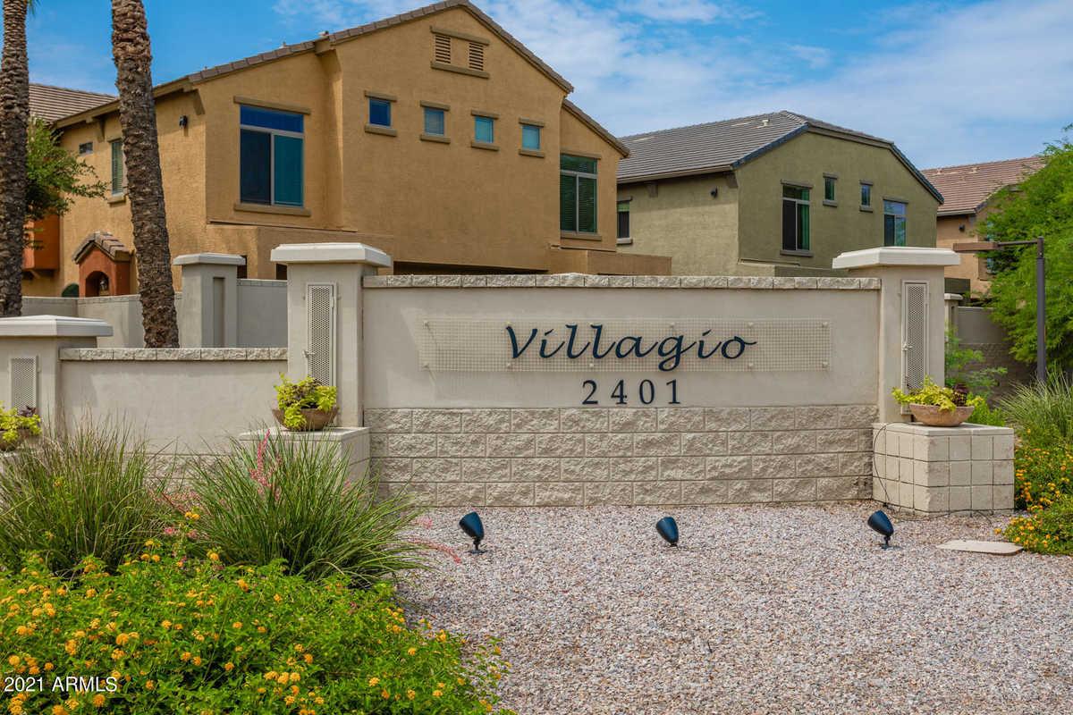 $350,000 - 2Br/2Ba -  for Sale in Villagio At Tempe Condominium Amd, Tempe