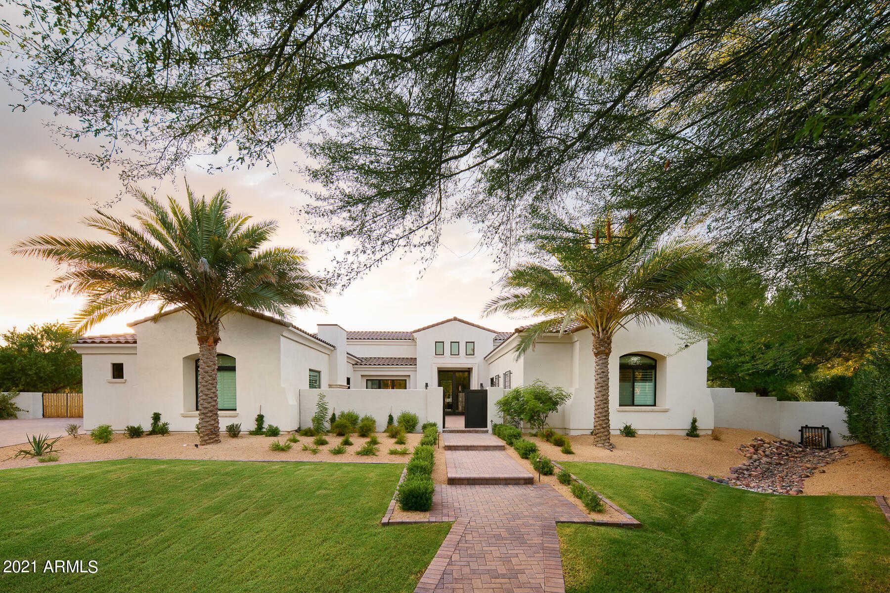 $6,471,522 - 5Br/6Ba - Home for Sale in Mockingbird Lane Estates 3, Paradise Valley