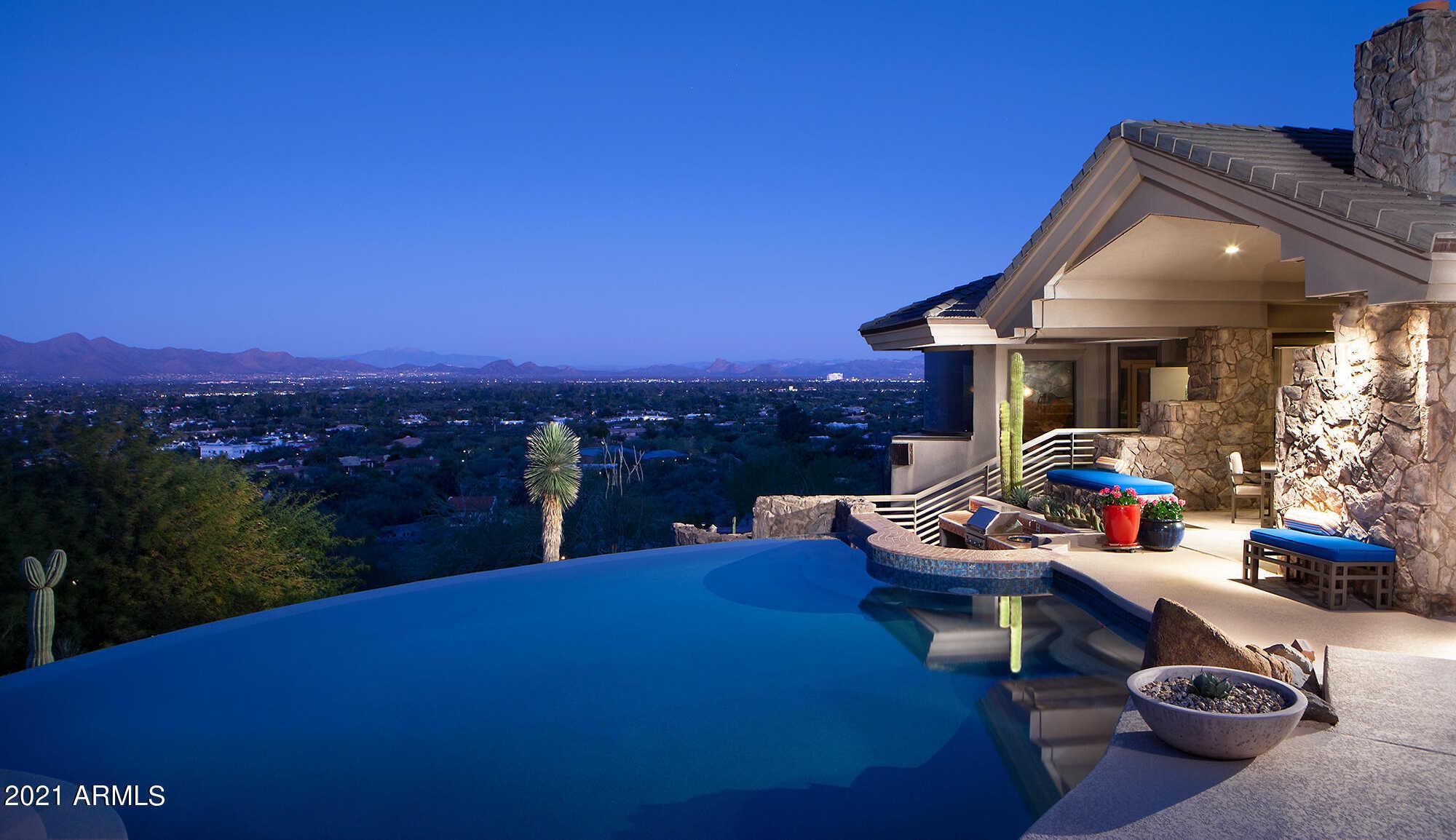 $6,000,000 - 4Br/5Ba - Home for Sale in Van Arsdale Estates, Paradise Valley