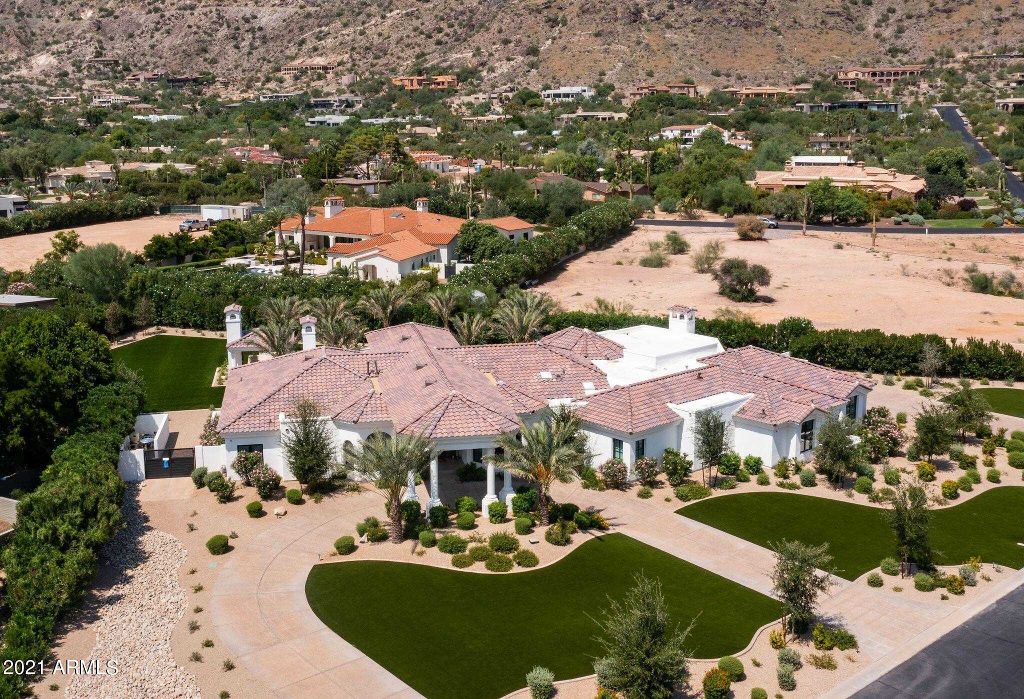 $5,000,000 - 5Br/6Ba - Home for Sale in Red Wing Estates Lot 1,2, Paradise Valley