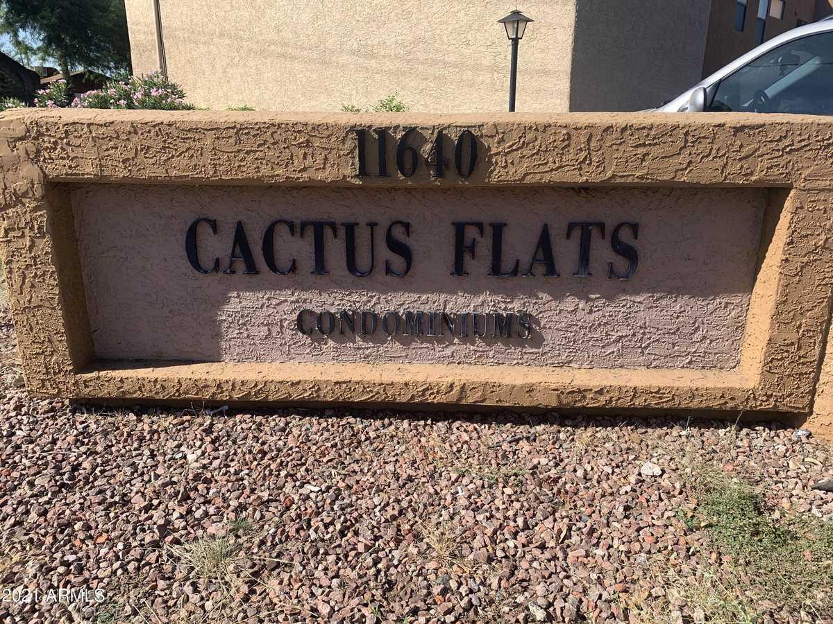 $191,000 - 2Br/2Ba -  for Sale in Cactus Flats Condominium, Glendale
