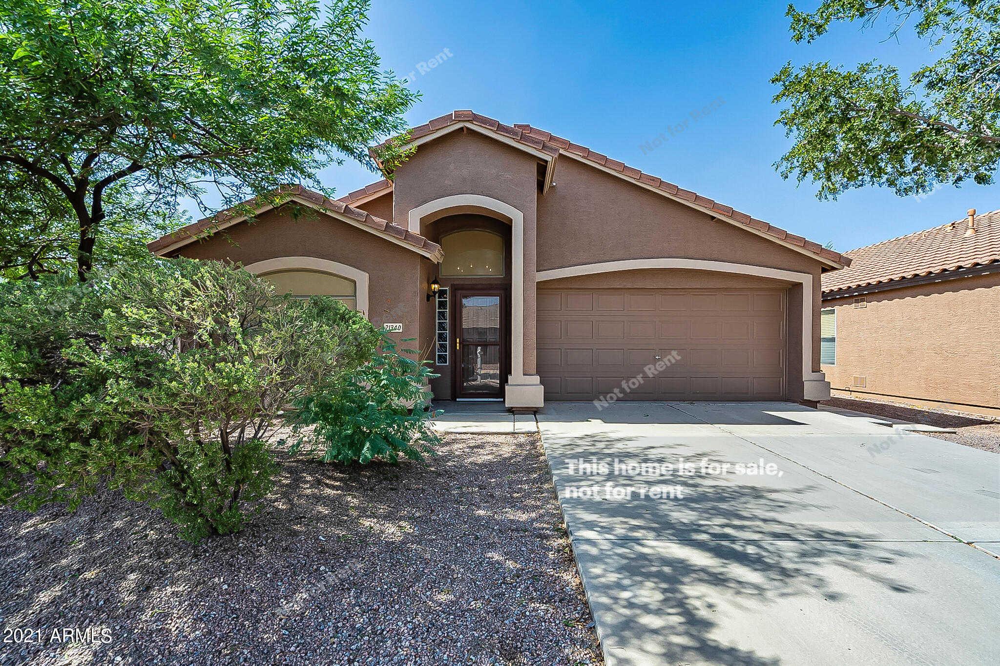 $365,000 - 2Br/2Ba - Home for Sale in Phase Ii Parcel 8 At Rancho El Dorado, Maricopa