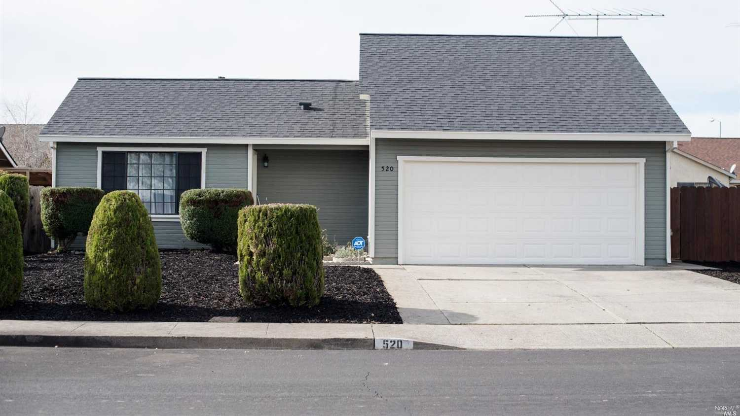 $405,000 - 3Br/2Ba -  for Sale in Suisun City