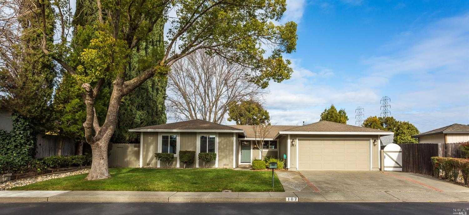 $515,000 - 3Br/2Ba -  for Sale in Vacaville