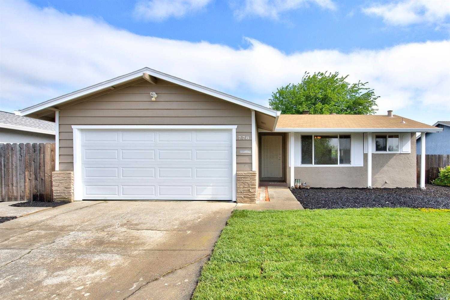 $379,500 - 3Br/2Ba -  for Sale in Fairfield