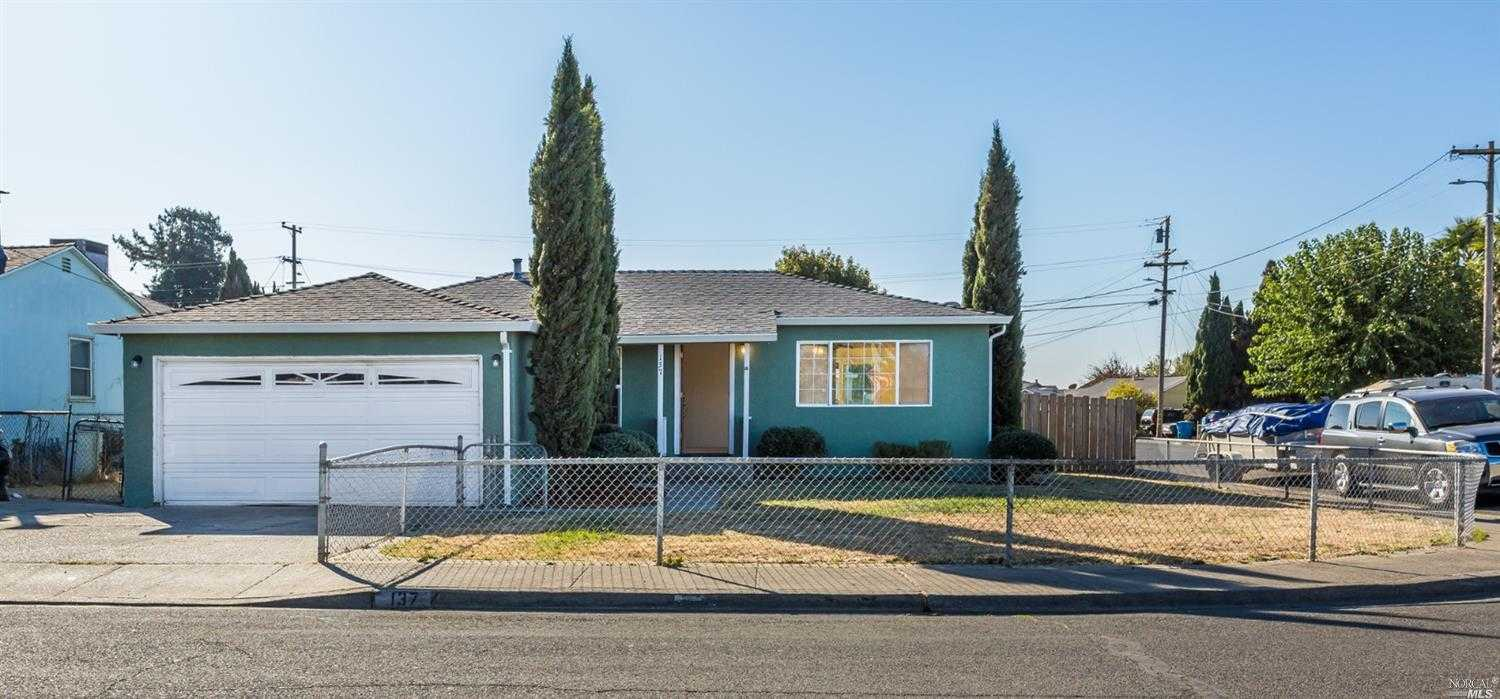 $427,000 - 3Br/2Ba -  for Sale in American Canyon