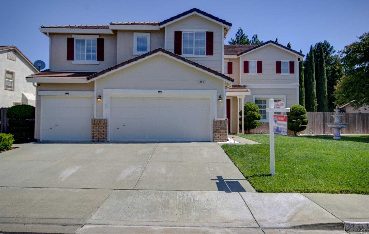 $714,000 - 4Br/3Ba -  for Sale in Vacaville