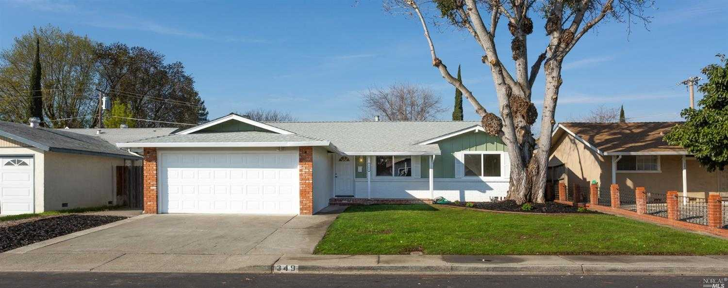 $423,000 - 4Br/2Ba -  for Sale in Vacaville