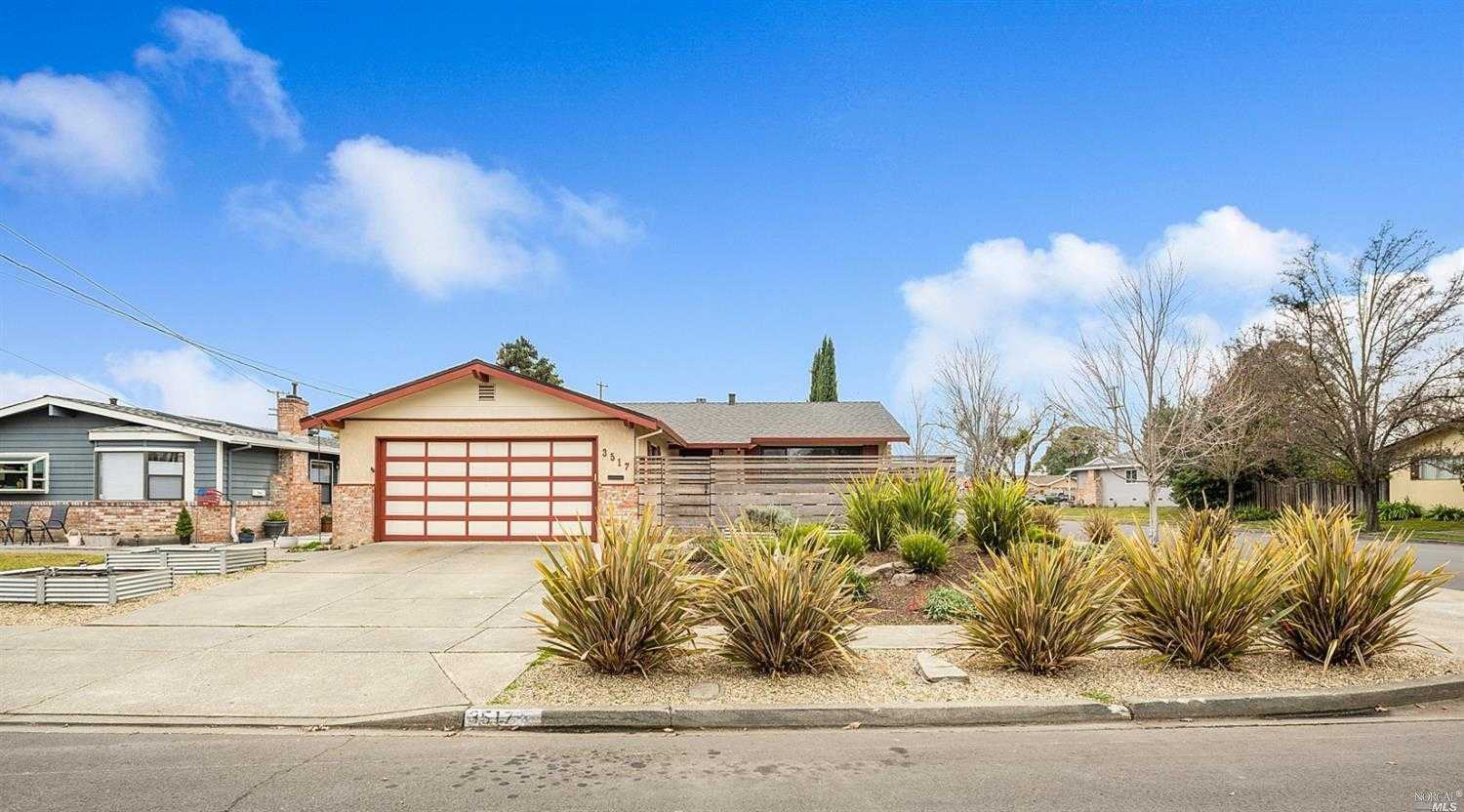 $669,000 - 3Br/2Ba -  for Sale in Bel Aire Park, Napa