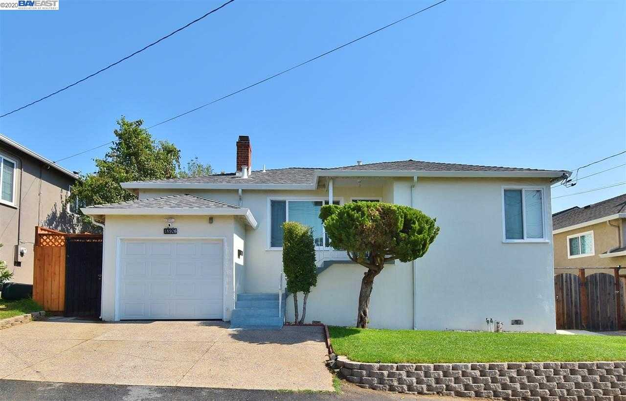 18926 Patton Dr CASTRO VALLEY, CA 94546