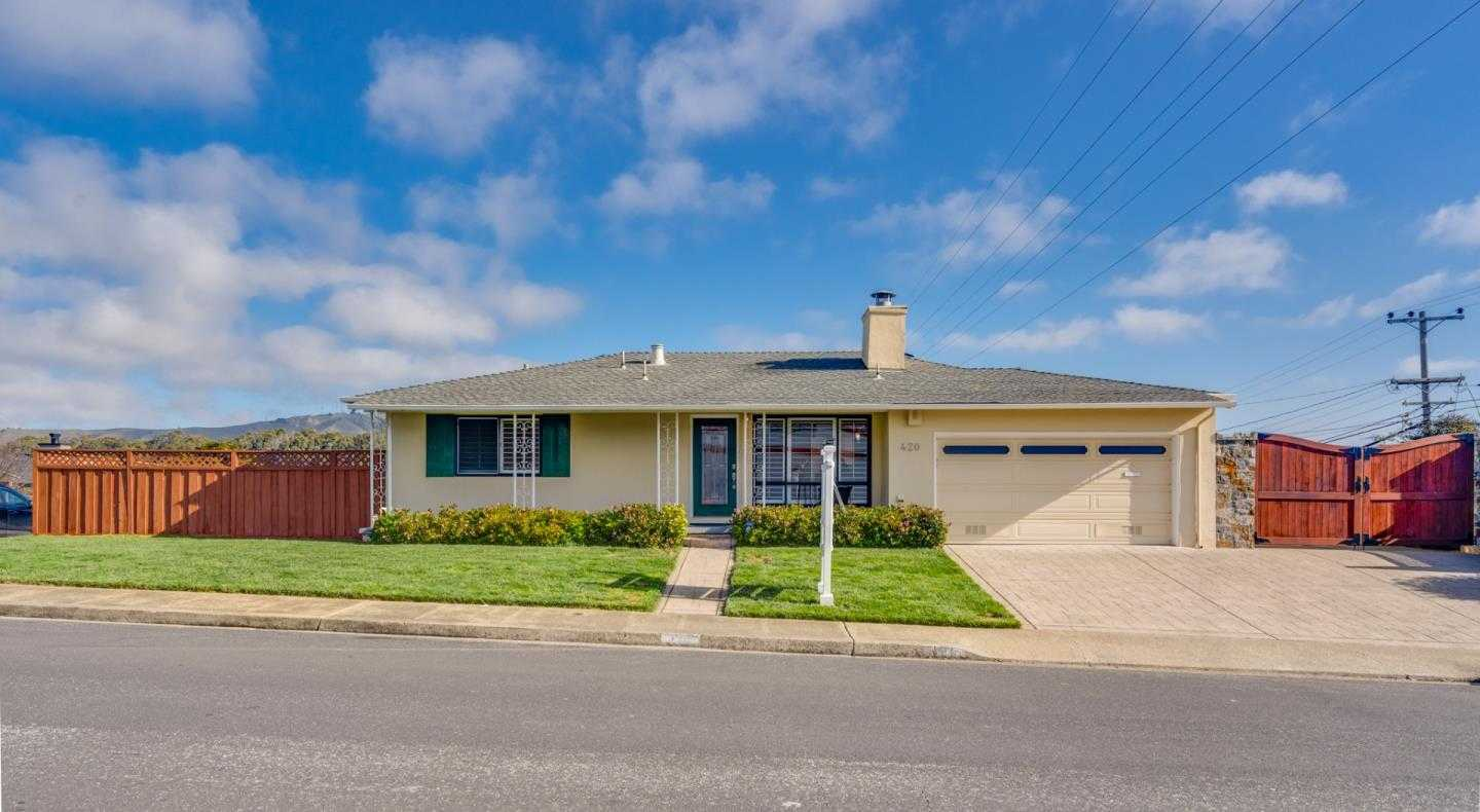 $1,149,000 - 3Br/2Ba -  for Sale in South San Francisco