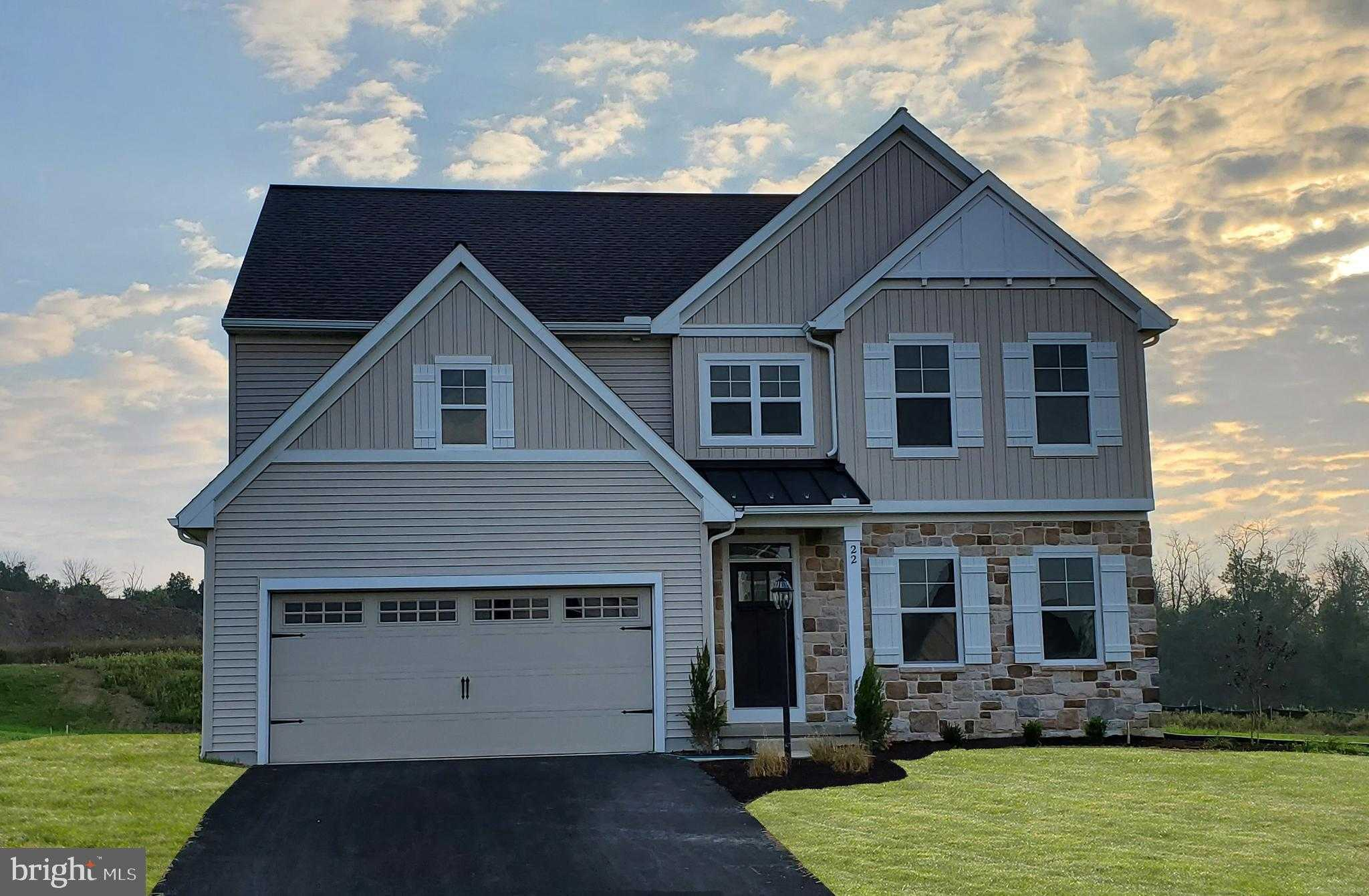 $387,990 - 4Br/3Ba -  for Sale in Meadowbrook Farms, Carlisle