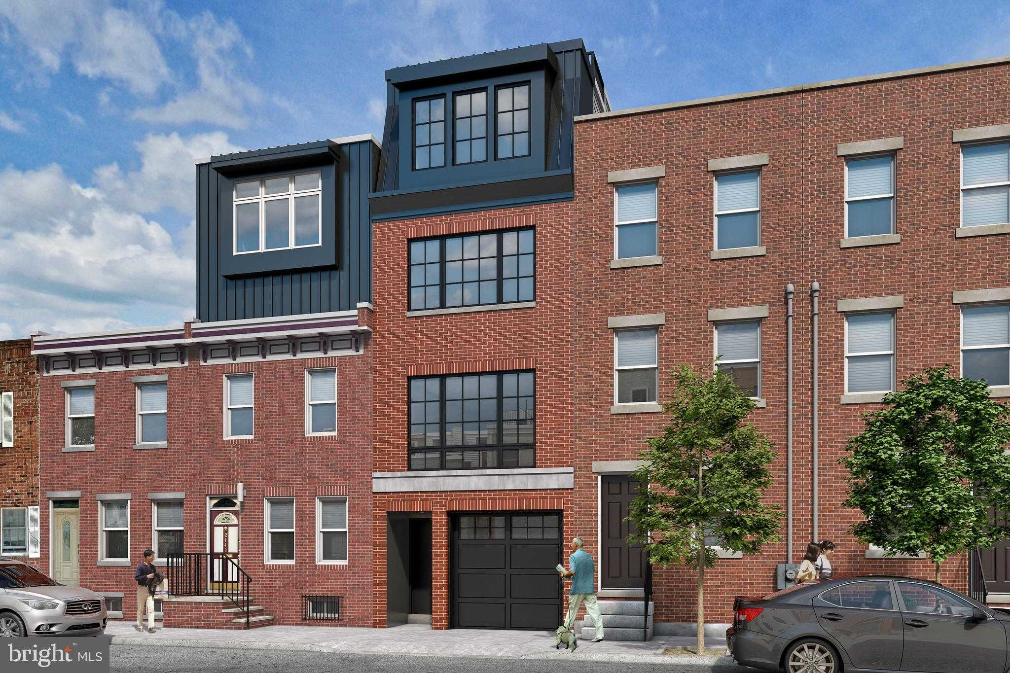 $875,000 - 3Br/3Ba -  for Sale in Graduate Hospital, Philadelphia