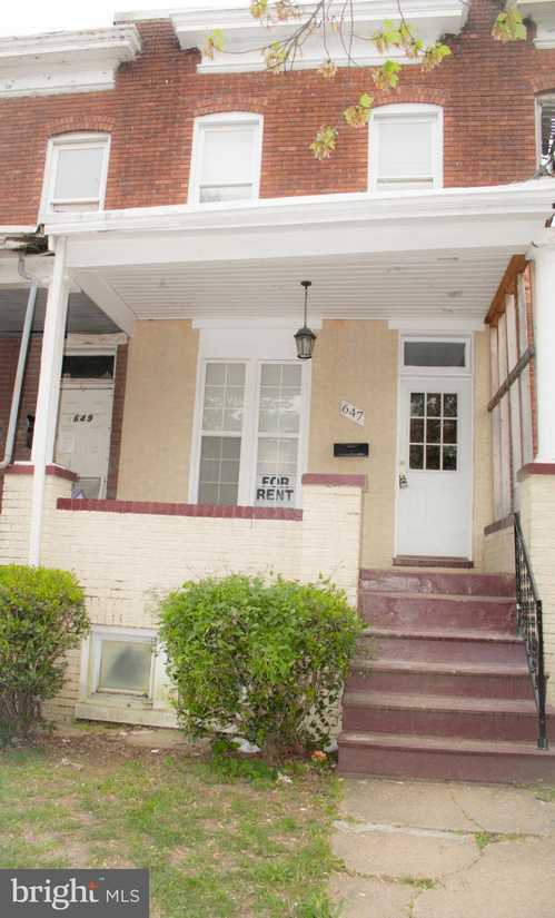 $65,000 - 3Br/1Ba -  for Sale in East Baltimore - Midway, Baltimore