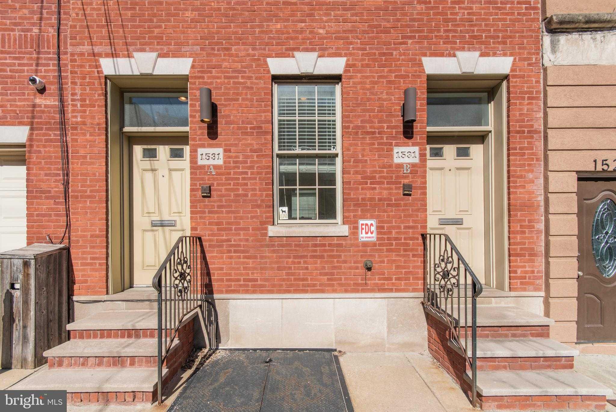 $599,000 - 2Br/3Ba -  for Sale in Graduate Hospital, Philadelphia