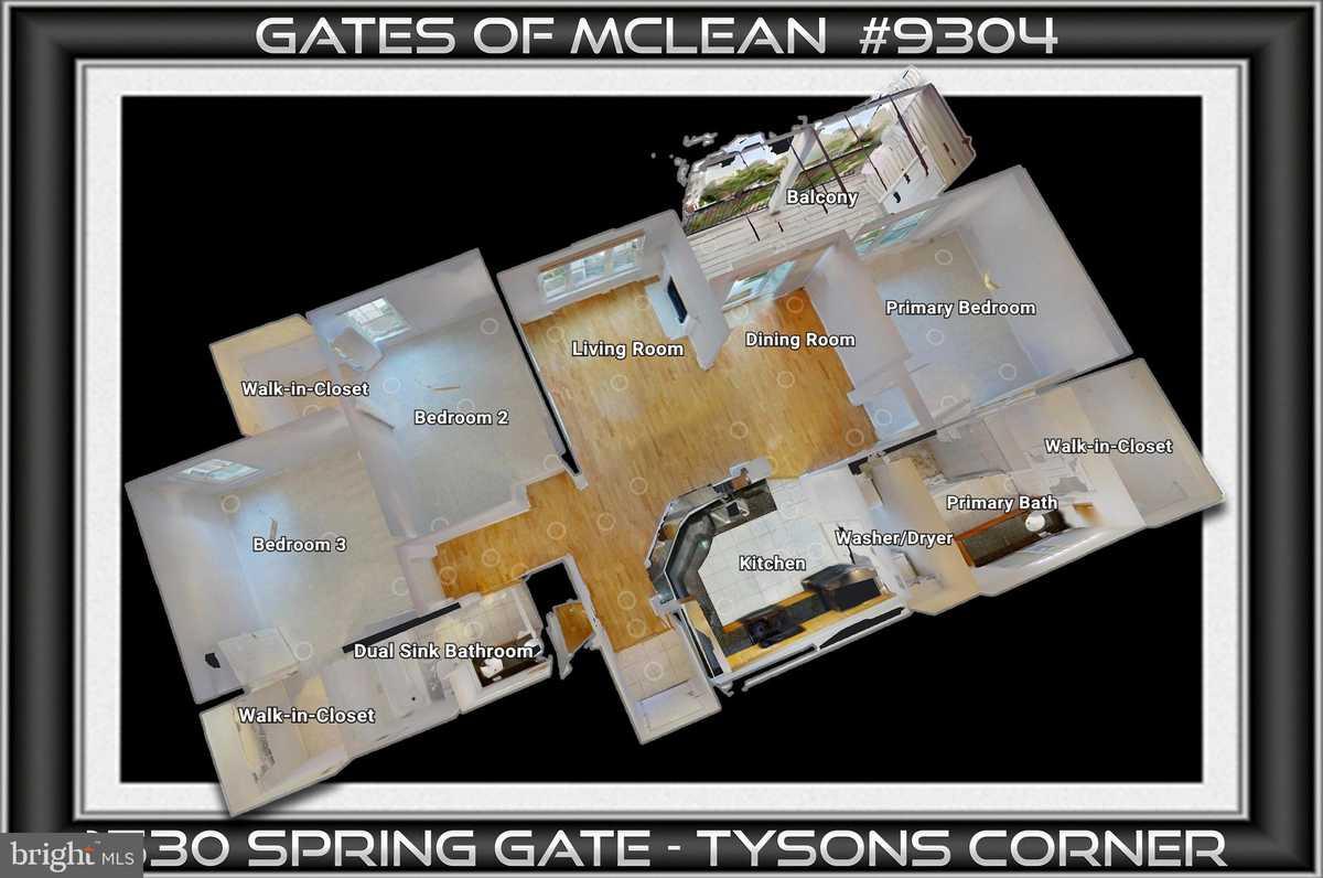 $499,500 - 3Br/2Ba -  for Sale in Gates Of Mclean, Mclean