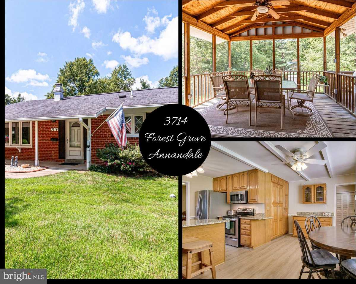 $700,000 - 4Br/3Ba -  for Sale in Sleepy Hollow Woods, Annandale