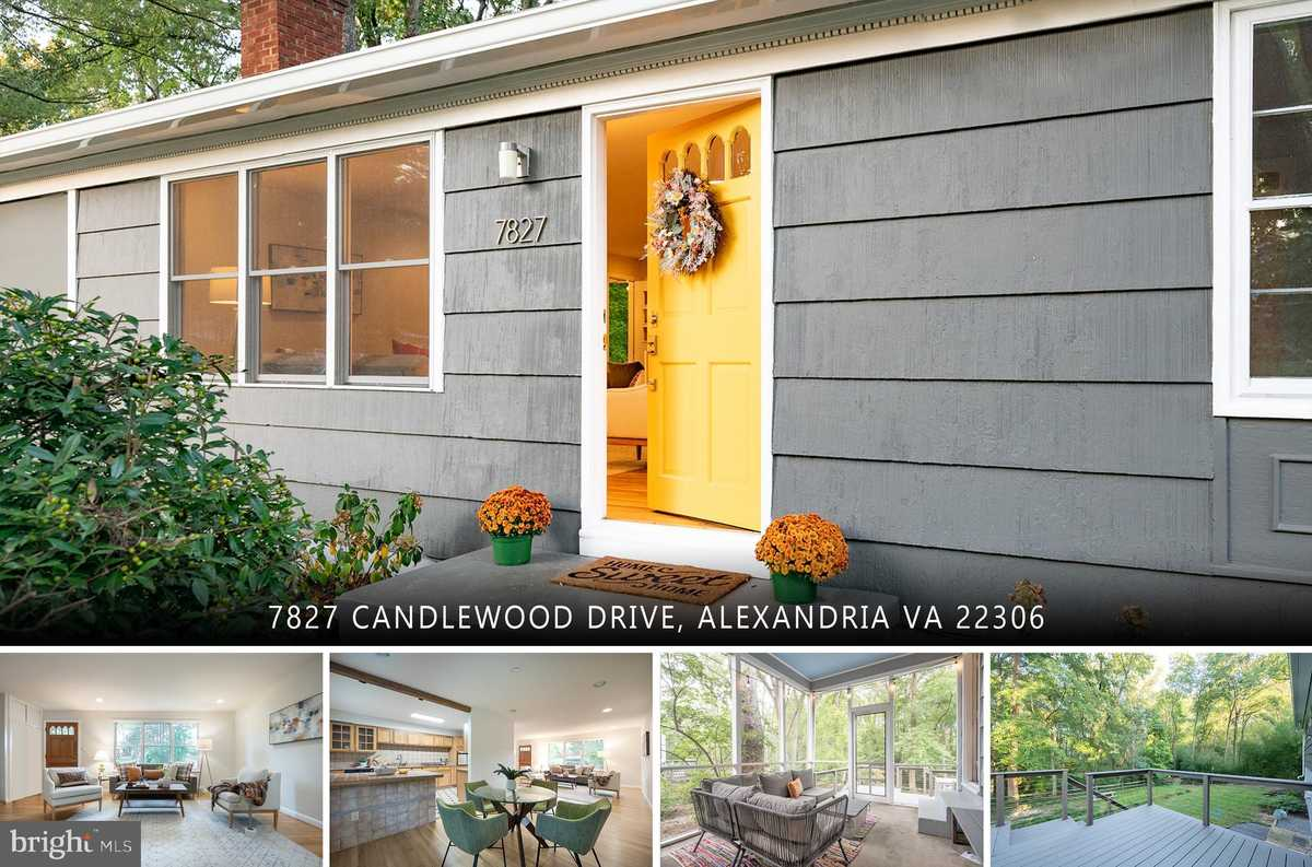 $689,000 - 4Br/3Ba -  for Sale in Sherwood Hall, Alexandria