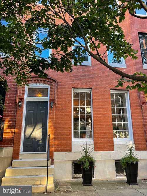 $595,000 - 4Br/3Ba -  for Sale in Bolton Hill, Baltimore
