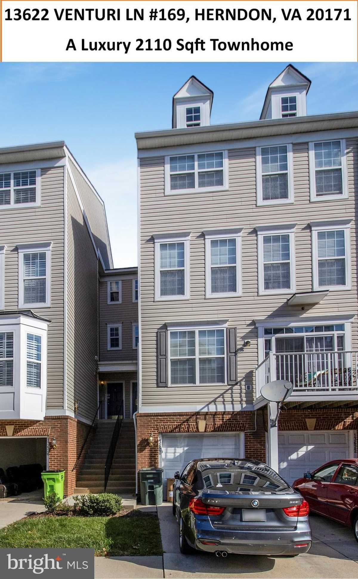 $483,900 - 3Br/3Ba -  for Sale in Coppermine Crossing, Herndon