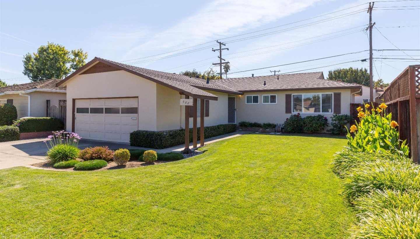 $1,595,000 - 3Br/2Ba -  for Sale in Sunnyvale