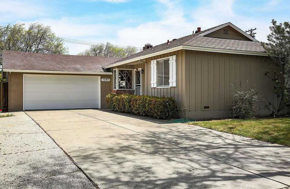 $1,325,000 - 3Br/2Ba -  for Sale in Santa Clara