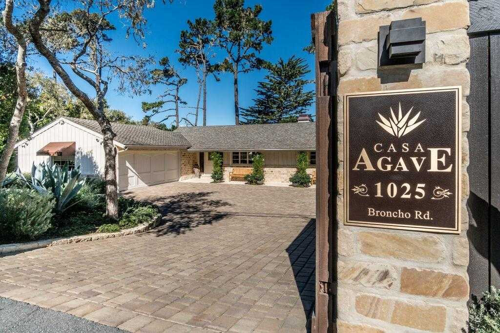 $3,297,000 - 3Br/3Ba -  for Sale in Pebble Beach