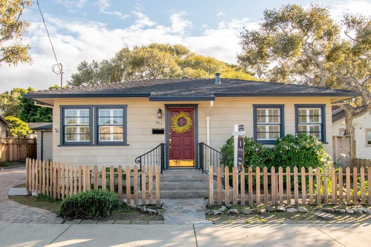 $839,000 - 2Br/1Ba -  for Sale in Pacific Grove