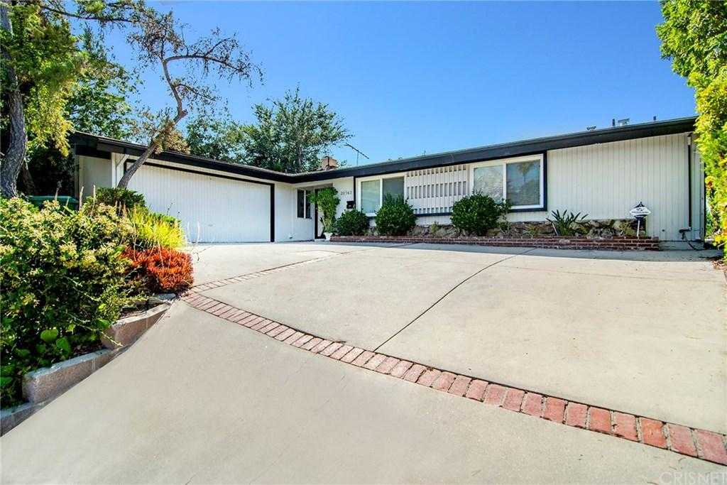 $759,000 - 3Br/2Ba -  for Sale in Woodland Hills