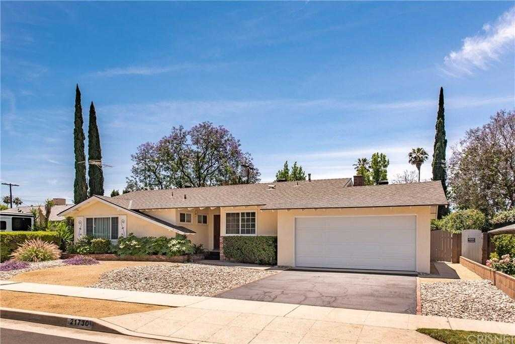 $570,000 - 3Br/2Ba -  for Sale in Canoga Park