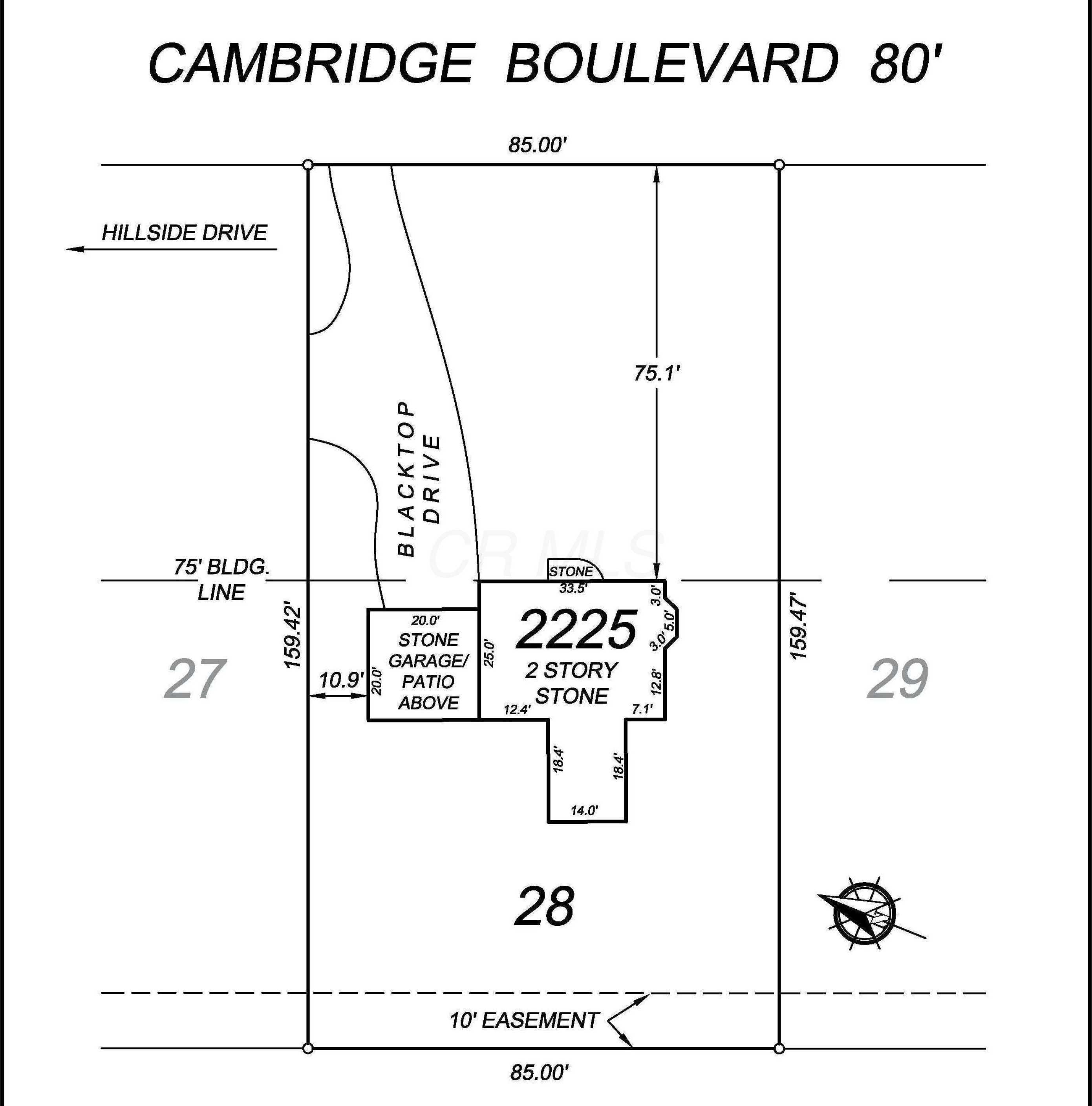 2225 Cambridge Boulevard Columbus,OH 43221 219034109