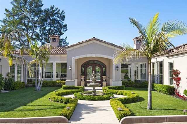 $5,895,000 - 4Br/6Ba -  for Sale in Rancho Santa Fe, Rancho Santa Fe