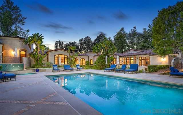 $6,995,000 - 8Br/11Ba -  for Sale in Rancho Santa Fe, Rancho Santa Fe