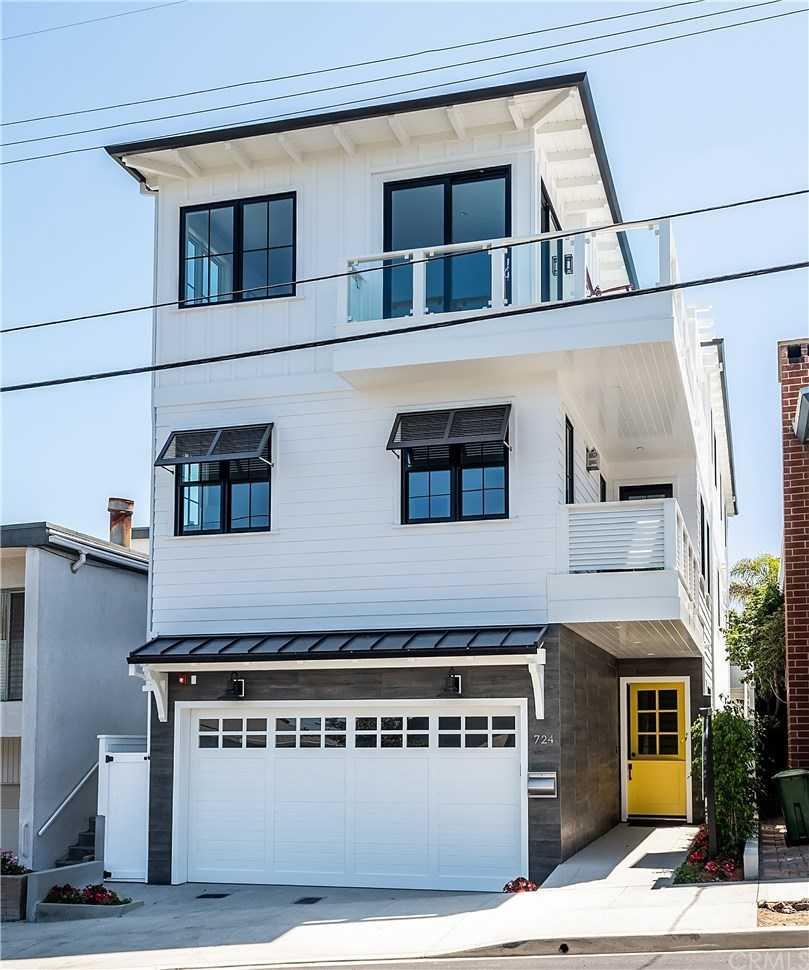 $5,285,000 - 6Br/7Ba -  for Sale in Manhattan Beach