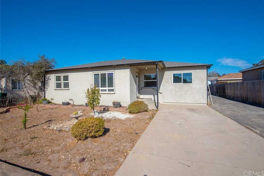 $465,000 - 3Br/2Ba -  for Sale in West Of 101(1000), Arroyo Grande