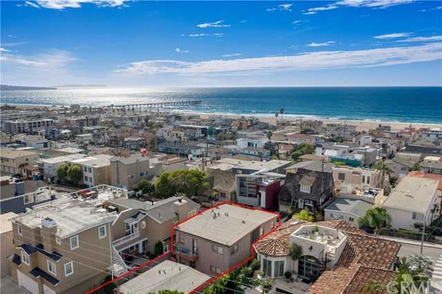 $2,750,000 - 4Br/3Ba -  for Sale in Hermosa Beach