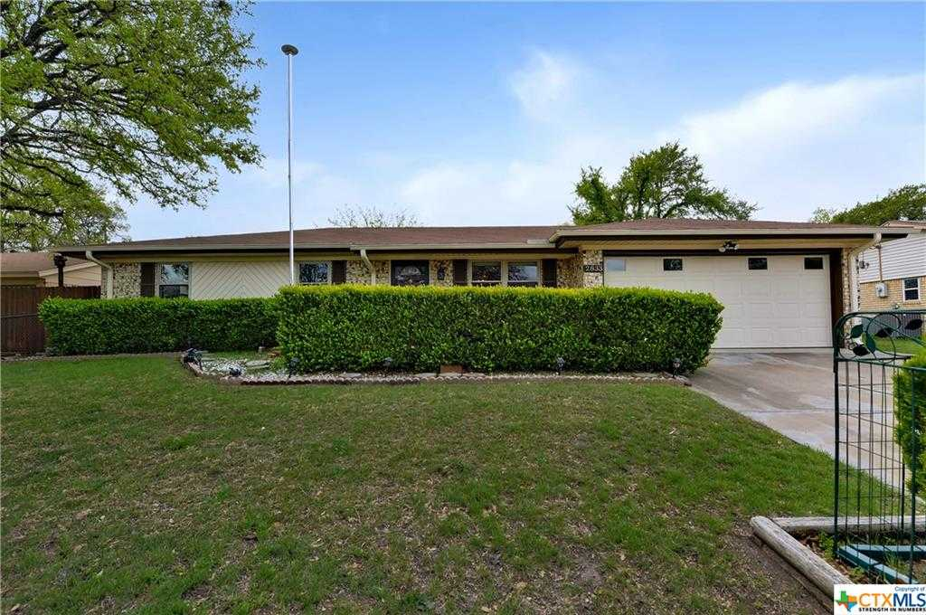$155,000 - 3Br/2Ba -  for Sale in Highland Park Add 3rd Ext, Copperas Cove