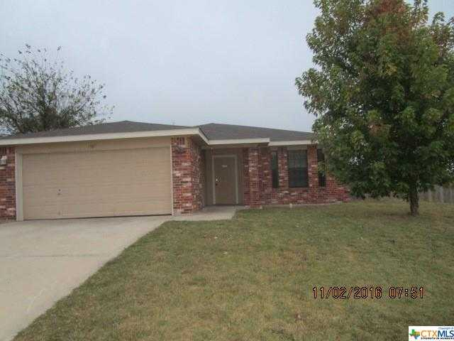 $171,900 - 3Br/2Ba -  for Sale in Tonkawa, Copperas Cove