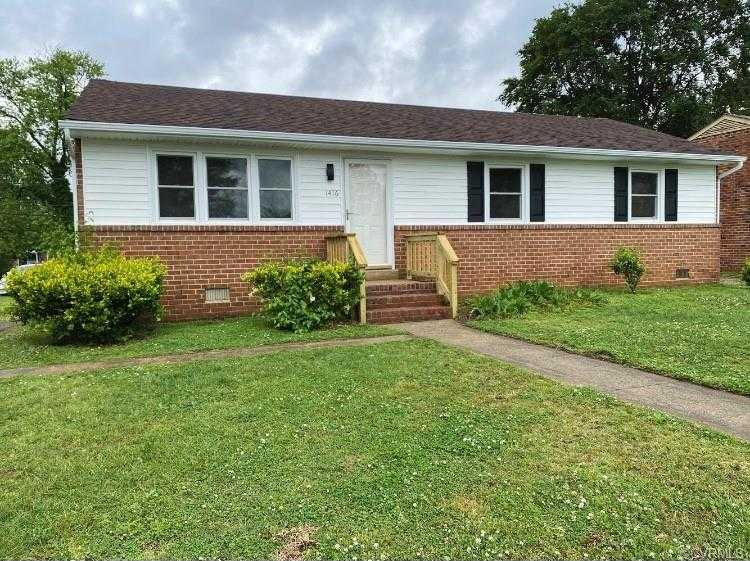 $179,900 - 3Br/2Ba -  for Sale in Broad Rock Homes, Richmond