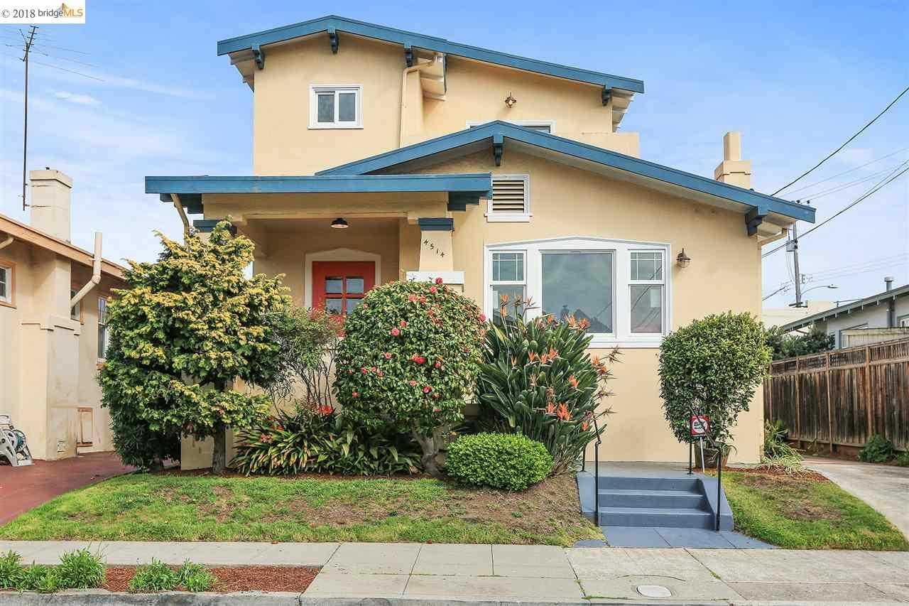 4514 Manila Ave OAKLAND, CA 94609